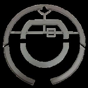 Накладка  серый  металик для 780 Roomba