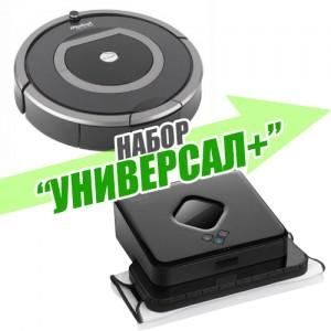 "Набор ""Универсал+"" Roomba 780 + Braava 380"