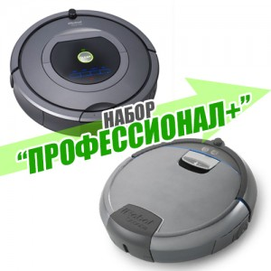 "Набор ""Профессионал+"" Roomba 780 + Scooba 390"